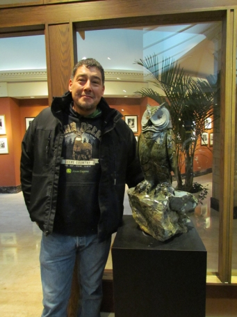 Paul with Grey Horned Owl