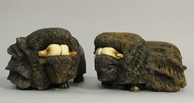 """""""Musk-oxen"""" by Fred Iyak"""